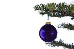 Chuchería del árbol de navidad Imagen de archivo libre de regalías