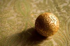 Chuchería festiva de la decoración de la Navidad del brillo imagenes de archivo