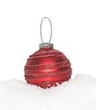 Chuchería roja del Año Nuevo de la Navidad Fotos de archivo libres de regalías
