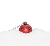 Chuchería roja del Año Nuevo de la Navidad Foto de archivo