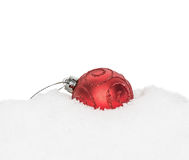 Chuchería roja del Año Nuevo de la Navidad Imagenes de archivo