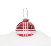 Chuchería roja del Año Nuevo de la Navidad Fotos de archivo