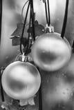 Chucherías blancos y negros Foto de archivo libre de regalías