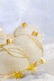 Chucherías de la bola de la Navidad Imágenes de archivo libres de regalías