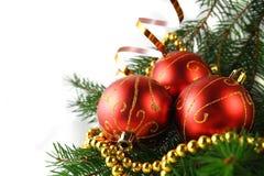 Chucherías de la Navidad ilustración del vector