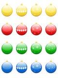 Chucherías de la Navidad stock de ilustración