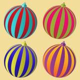 Chucherías de la Navidad Imágenes de archivo libres de regalías