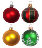 Chucherías de la Navidad Fotos de archivo libres de regalías