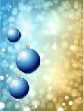 Chucherías de la Navidad Foto de archivo libre de regalías