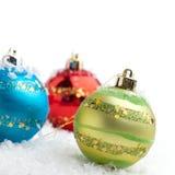 Chucherías de la Navidad Fotos de archivo