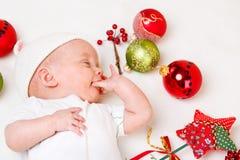 Chucherías de la Navidad fotografía de archivo