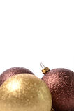 Chucherías de la Navidad Foto de archivo