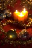 Chucherías de la Navidad Imagen de archivo libre de regalías