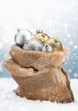 Chucherías de la Navidad del invierno Imagenes de archivo