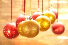 Chucherías de Navidad Fotos de archivo libres de regalías