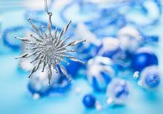Chuchería de la estrella de la Navidad Imagen de archivo libre de regalías