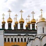 Chuches de palais de Terem à Moscou images stock