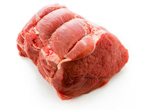 Chuck roast. Local grass fed chuck roast ready for cooking Royalty Free Stock Photography