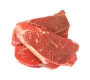 Chuck shoulder steaks royalty free stock photo