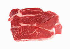 Chuck Steak Top View Royalty Free Stock Photo
