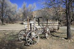 Chuck Wagon anziano Fotografia Stock Libera da Diritti
