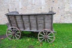 Chuck Wagon anziano Fotografia Stock