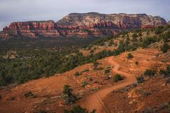 Chuck Wagon Trail and Secret Mountain royalty free stock photography