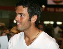 Chuck Wicks - CMA Music Festival 2009. Chuck Wicks at the CMA Festival June 11-14, 2009 in Nashville, Tennessee signing autographs Stock Image