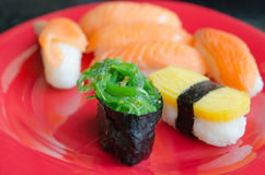 Chucka seaweed sushi Royalty Free Stock Photography