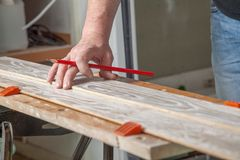 Chucked Laminate Stock Images