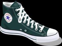 Chucks, Converse, Shoes, Footwear Stock Photo