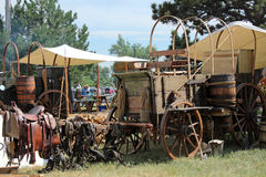 Chuckwagon Cookoff Stock Image