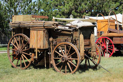 Chuckwagons Stock Photo