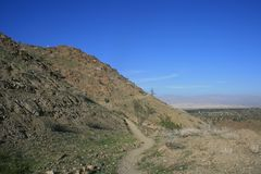 Chuckwalla Trail Royalty Free Stock Images