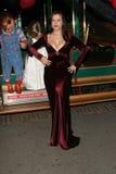 Chucky Jennifer Tilly, fröt royaltyfri bild