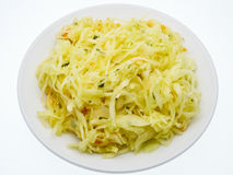 Chucrute, salada de couve Imagem de Stock
