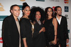 Chudney Ross, Diana Ross, Evan Ross, Tracee Ellis Ross Stock Image