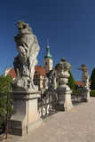 Chuech unserer Dame des Sieges in Prag Stockbild