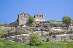 Chufut-cavolo, la città della caverna - fortezza Fotografia Stock