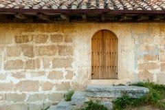 Chufut-col rizada antigua de la ciudad de la cueva fotografía de archivo libre de regalías