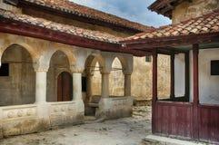 Chufut-Kale, tatar fortress in Crimea, Ukraine Royalty Free Stock Images