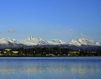 Chugach mountain range Stock Images