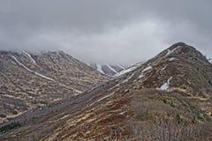 Chugach Mountains Alaska Stock Image