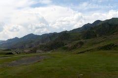 Chui-Fläche im Bereich des Fläche kalbak-Tash Altai-Republik, Sibirien, Russland stockfoto
