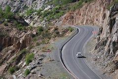 Chuia väg, Altai, Ryssland Royaltyfri Bild