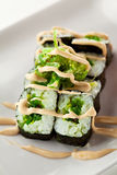 Chuka Maki Sushi Stock Photos