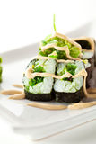 Chuka Maki Sushi Royalty Free Stock Photography