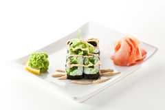 Chuka Maki Sushi Royalty Free Stock Photo