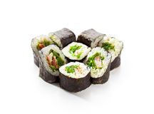 Chuka Maki Sushi Royalty Free Stock Images