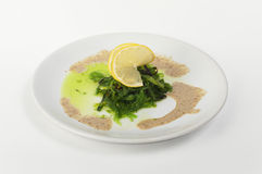 Chuka-Meerespflanzen-Salat lizenzfreies stockbild